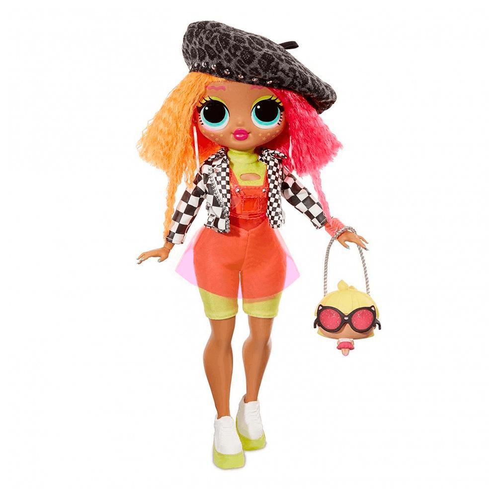 Большая кукла LOL Surprise OMG Neonlicious Fashion Doll с 20 сюрпризами - 8