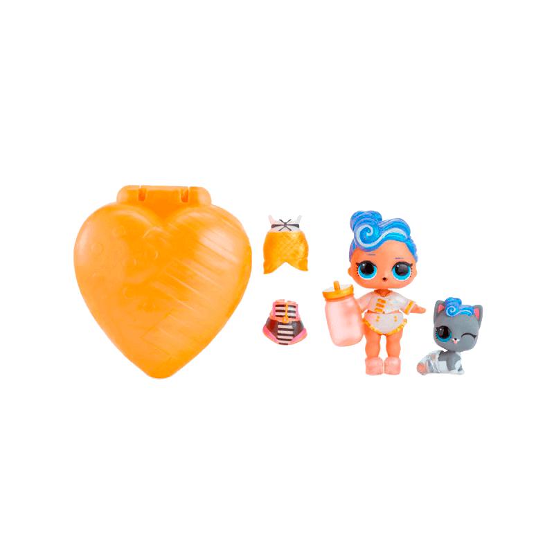 Кукла LOL Bubbly Surprise (чемоданчик-шипучий сюрприз) оранжевый - 3